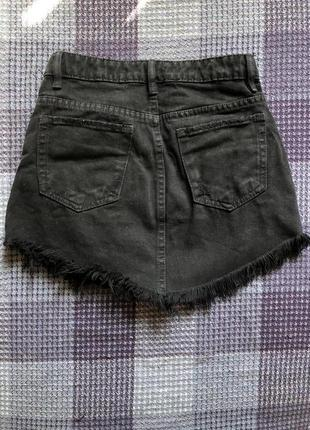Юбка джинсовая bershka