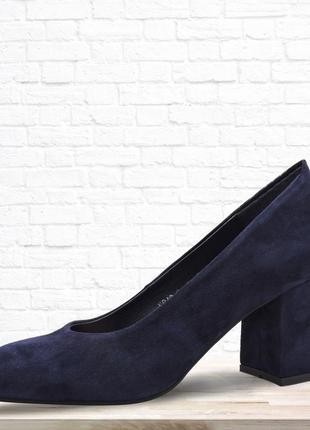 Женские туфли se7en синие