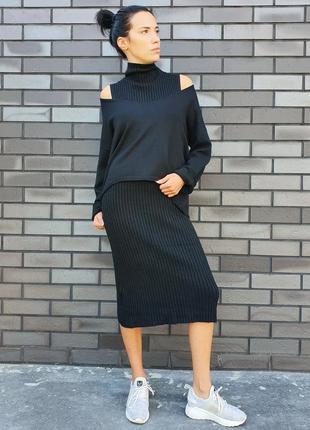 Женский костюм pronto moda (италия) размер m-l