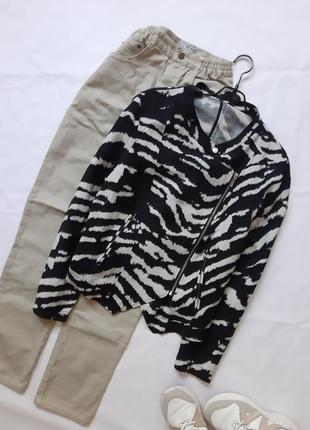 Куртка косуха на молнии, жакет большой размер, ветровка  лен