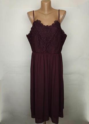 Платье новое шикарное шифоновое большой размер marks&sepncer uk 18/46/xxl