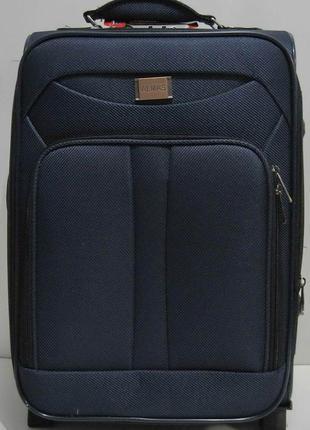 Дорожный тканевый чемодан (маленький-синий) 19-03-029