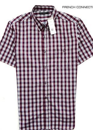 Рубашка в клетку french connection