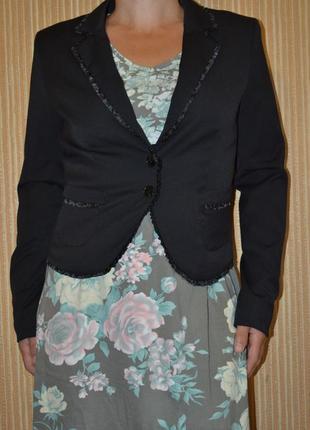 М/38/10  деловой пиджак, жакет от h&m
