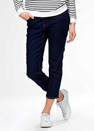 Укороченные джинсы слим  французского бренда kiabi европа, м, сток из европы