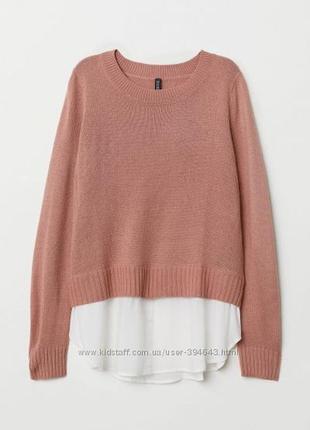Джемпер свитер кофта рубашка h&m
