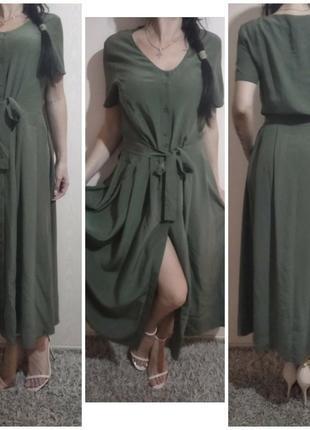 Alba moda платье шелк. massimo dutti