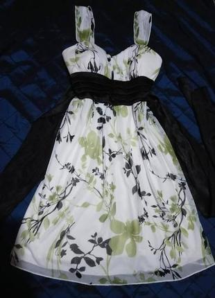 Красивое платье ,сарафан /sweet storm/ размер s