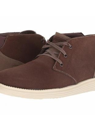 Кожаные ботинки кроссовки  skechers р.43-44