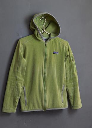 Крутое флисовое худи patagonia woomens fleese full zip hoodie
