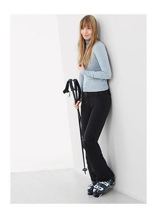 Softshell лыжные брюки на флисе. tcm tchibo.германия.евро 36.38 наш 42-44-46.