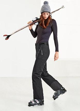 Лыжные термо брюки софтшелл , мембрана 5000! от tchibo германия , размер 40 евро=46-48