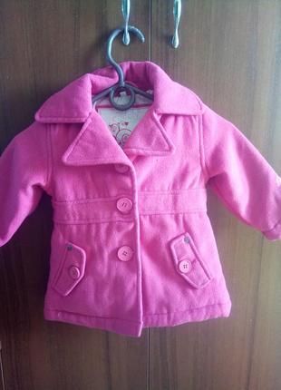 Пальто для маленькой принцесы!