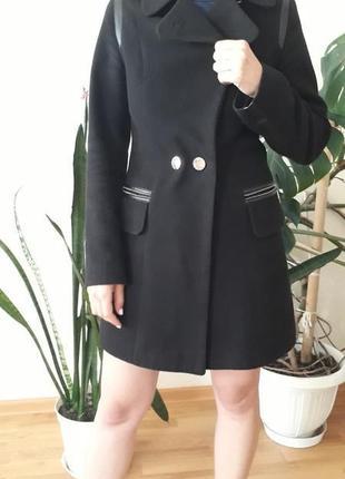 Пальто драповое демисезонное