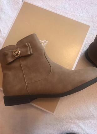 Michael kors girls деми ботинки осенние оригинал