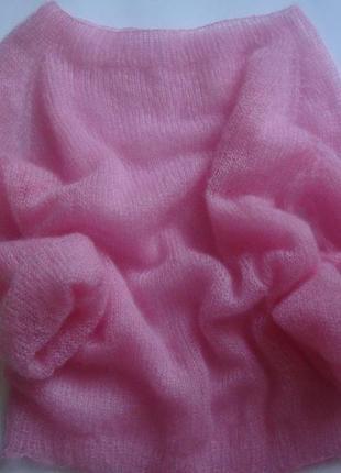 Скидка!!! нежнейший свитер паутинка из кид мохера