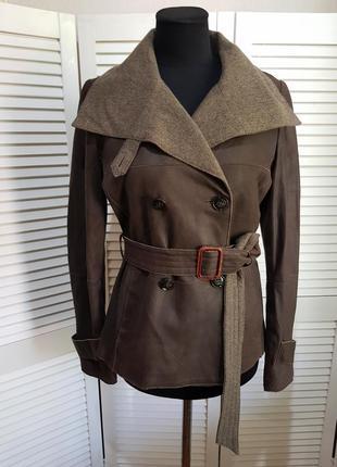 Кожаная куртка max mara