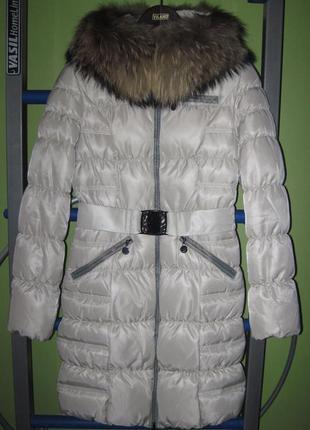 Пуховое пальто daser td-11-046m размер 38, s-m