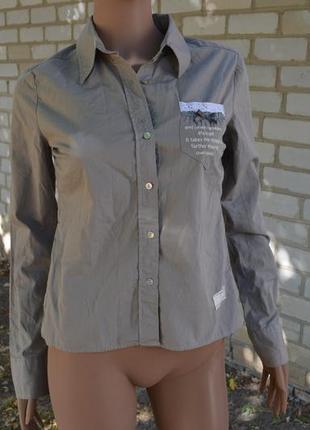 Уникальная блузка фирмы odd molly (кружева, ленточки, бантики)