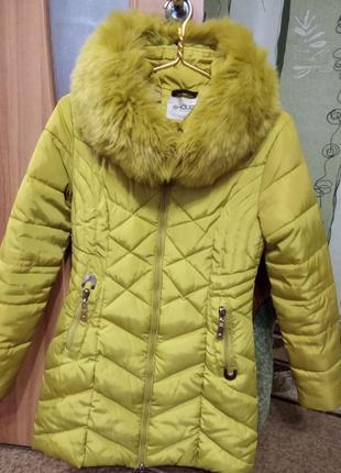 Пальтишко на девочку 12-15 лет ( зима)