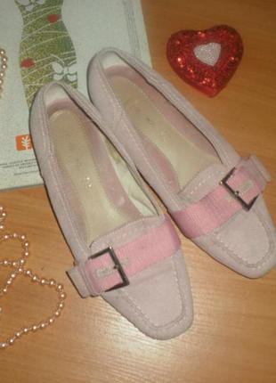 Мегакласні та зручні туфельки-мокасіни від тсм замша!