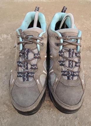 Мембранные кожаные ботинки кроссовки karrimor р.40