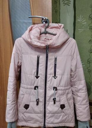 Куртка парка на девочку 10-14 лет