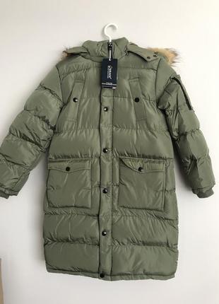 Пуховик пальто зимнее