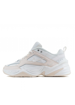 Женские кроссовки nike m2k tekno phantom summit white