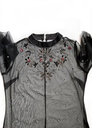 Прозрачна блуза
