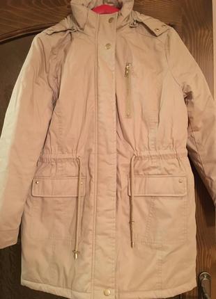 Зимняя куртка со съемным капюшоном dress in 40