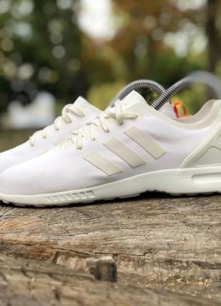 Кроссовки adidas zx flux original 38 белые