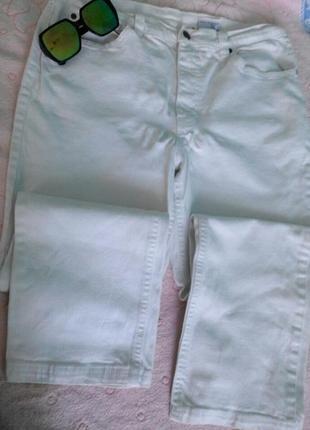 Штани білі джинсові