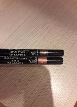 Chanel  водостойкий карандаш для глаз