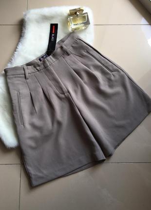 Плотные шорты бермуды black castro