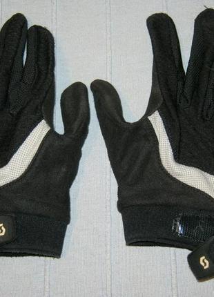 Велоперчатки scott essential lf рукавиці вело перчатки