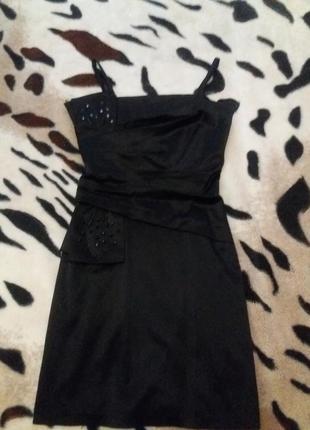 Шолковое платье