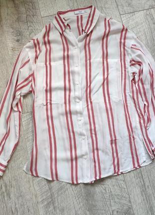 Рубашка прямого фасона