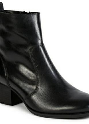 Демисезонные кожаные ботинки tu, размер 6