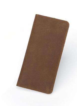 Стильное портмоне из плотной кожи