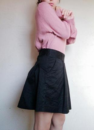 Школьная юбка h&m черная юбка сонцекльош