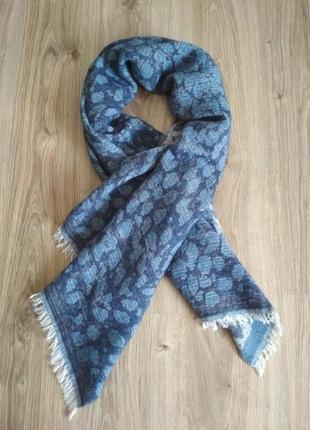 Gloria ortiz объемный теплый шарф палантин