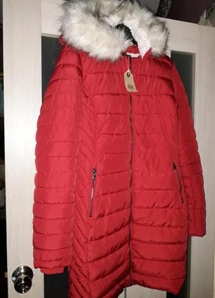 Эффектная зимняя куртка