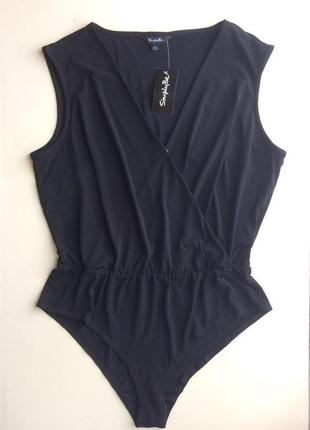 Нарядная блузка-боди simply be размер 50/16/44