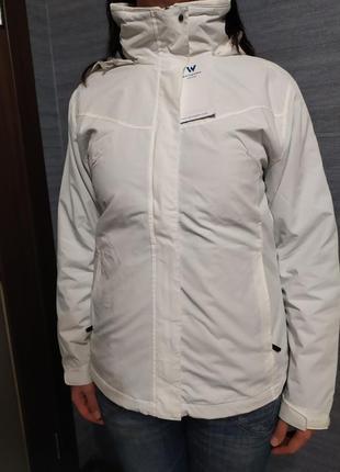 White sierra 3 в 1 (2 куртки) белая+серая оригинал осень-зима
