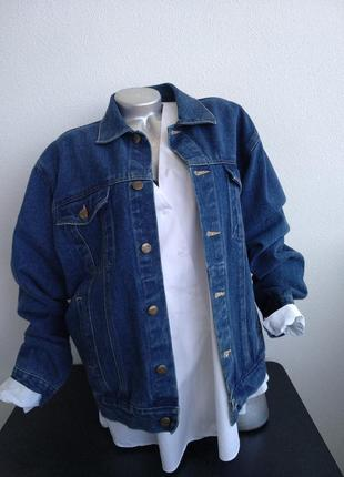 🔥chino mexicano джинсовка бойфренд куртка джинсовая синяя