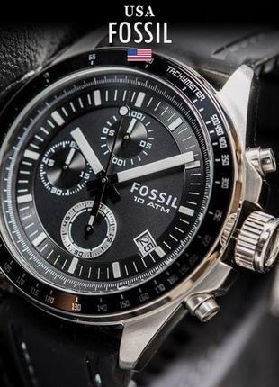- 36% | мужские часы хронограф fossil  decker ch2573ie (оригинальные, новые с биркой)