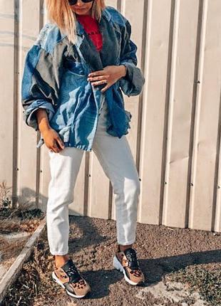 Джинсовая куртка тренд 2019 zara