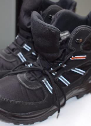 Зимние мембранные ботинки сапоги полусапоги