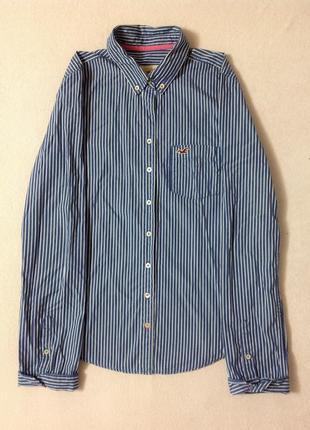Супер цена! рубашка hollister в полоску